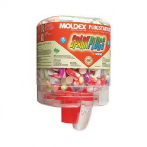 Moldex® 6644 Uncorded Disposable Ear Plug, Tapered, 33 dB, Assorted Plug