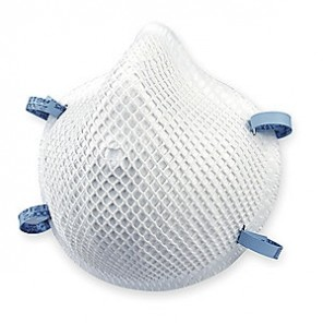 Moldex® 2200N95 Particulate Respirator With Molded Nose Bridge, M/L, N95, 95%, White, 20/Box