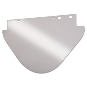Anchor Brand 4199-C 9-3/4 x 19 Clear Unbound Visor for Fibre Metal Frames