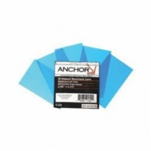 Anchor® UV327M Inside Cover Lens, 4-1/4 in W x 2-1/2 in L, Clear, 100% Polycarbonate