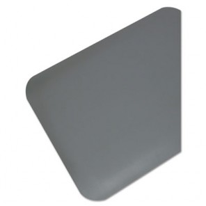 Pro Top Anti-Fatigue Mat 44030550, PVC Foam/Solid PVC, 36 x 60, Gray