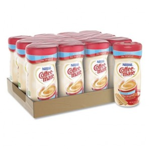 Coffee-Mate Non-Dairy Powdered Original Lite Creamer, 11 oz. Canister, 12/Carton