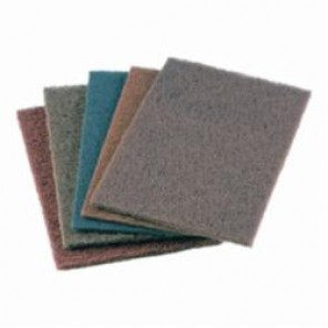 PFERD POLIVLIES® PVSK General Purpose Hand Pad, 9 in L x 6 in W, Very Fine Grade, Aluminum Oxide Abrasive 20/Box