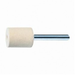PFERD 48523 Cylindrical Felt Polishing Point, 3/8 in Dia, 1/4 in