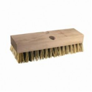 PFERD Vantage Brush 89516 Heavy Fill Deck Brush, 10 in L x 2-3/4 in W Brush, 2 in High Density Tampico Trim 12/Box