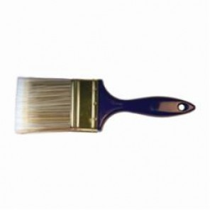 PFERD 89747 Premier Quality Wall Brush, 3 in W Polyester/Nylon Brush, Blue Foam Injected Handle, Polyester 10/Box