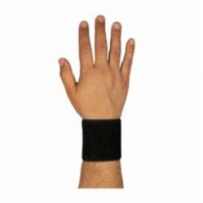 PIP® 290-9010BLK Ambidextrous Stretchable Wrist Support Hook and Loop Closure, Universal, Black