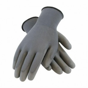 PIP 33-G115 Light Weight Black Palm Fully Coated Glove with Knit Wrist