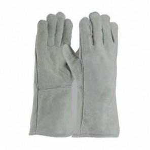 PIP® 73-888RHO Men's Shoulder Grade Welding Gloves, L, Gray, Right Hand Only, Wing Thumb