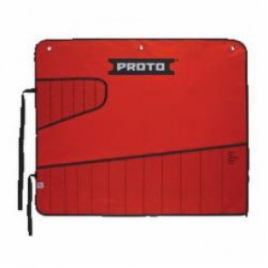 Proto® J25TR42C Tool Roll, 18 Pockets, For Use With J1200R-MASD Combination ASD Wrench Set, Canvas/Vinyl, Red
