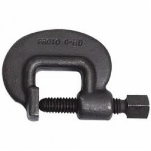 Proto® J3P2-HD 3-H Forcing Screw, 7/8 in Thread Dia, 7 in L, For Use With C-Clamps, Steel, Black