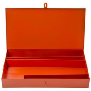 Proto® J5697 Heavy Duty Portable Tool Set Box, 14-1/2 in H x 26-3/4 in W x 4 in D, Steel