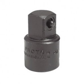 Proto® J7650 Impact Socket Adapter, 1-5/16 in OAL, 3/8 in Female x 1/2 in Male Adapter