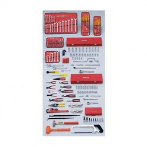 Proto® J99430 Intermediate Metric Master Tool Set, 157 Pieces, For Use With 4 - 26 mm Fasteners, 3/8 in, 1/2 in Drive