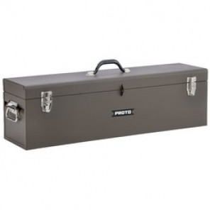 Proto® J9979-NA Carpenters Tool Box With Removable Steel Tote Tray, 9-1/2 in H x 32 in W x 8-1/2 in D, Steel