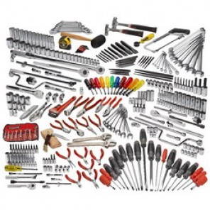 Proto® JCS-0334MAS Advanced Metric/SAE Technician Maintenance Tool Set, 334 Pieces, 1/4 in, 3/8 in, 1/2 in Drive
