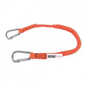 Proto® JLAN15LBDSS Tool Lanyard, 27 in Working Length, 52 in Extended Length, 15 lb, Steel Hardware, Nylon Liner