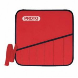 Proto® JSCVM22SP Tool Roll, 22 Pockets, For Use With JSCVM-22S Combination Ratcheting Wrench Set, Red