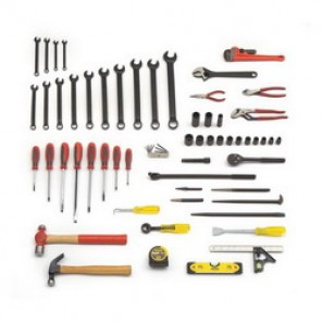 Proto® JTS-0067RR SAE Railroad Carman's Tool Set, 67 Pieces, For Use With 7/16 - 1-1/4 in Fasteners, 1/2 in Drive