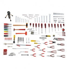 Proto® JTS-0149AVI SAE Technician's Tool Set, 149 Pieces, For Use With 1/8 - 3/4 in Fasteners, 1/4 in Drive