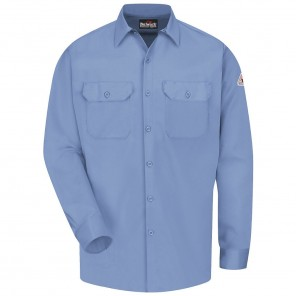 Men's Bulwark Flame-Resistant Button-Front Work Shirt