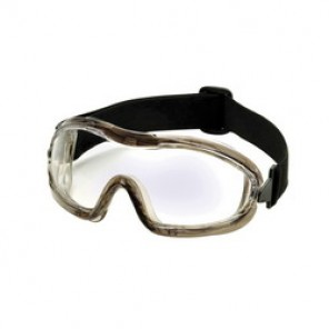 Pyramex® G704T Indirect Vent Protective Goggles, Universal, Gray Frame, Anti-Fog, Scratch-Resistant Clear Lens