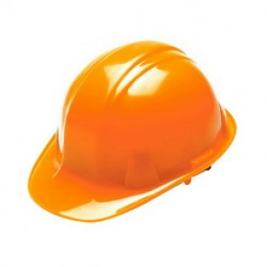 Pyramex® HP14141 Cap Style Hard Hat, 6-1/2 - 8 in, Hi-Viz Orange, 4-Point Nylon Ratchet Suspension, Class C, G, E