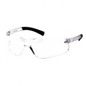 Pyramex® S2510R20 Bi-Focal Lens Reader Protective Glasses, Universal, +2.0, Frameless, Scratch-Resistant Clear Lens