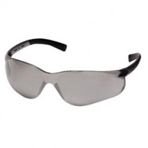 Pyramex® S2520R20 Bi-Focal Lens Reader Protective Glasses, +2.0, Wraparound, Scratch-Resistant Gray Lens