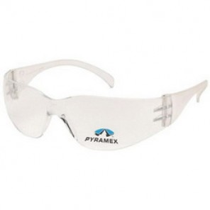 Pyramex® S4110R20 Bi-Focal Lens Light Weight Reader Protective Glasses, +2.0, Frameless, Scratch-Resistant Clear Lens