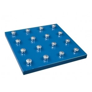 "BALL TRANSFER TABLE TOP, Size: 48 x 48"", Spacing: 6"""