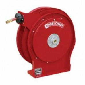 Reelcraft® 5650 OLP 5005 Low Pressure Premium Duty Hose Reel With Hose, 3/8 in ID x 3/5 in OD x 50 ft L Hose, 300 psi, 16-1/2 in Dia x 2-1/2 in W Reel, Domestic