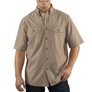 Men's Carhartt Fort Solid Short-Sleeve Shirt