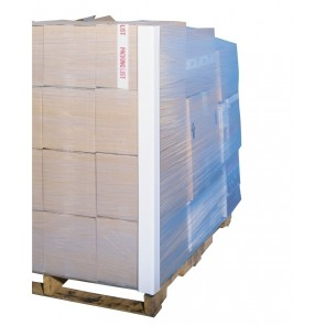 "PALLET LOAD PROTECTION V-BOARD, Size: 2 x 2 x 48"", Thickness: 0.12, Qty. Per Case: 50"