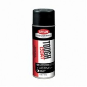 Krylon® Tough Coat® A03725007 Acrylic Enamel Spray Paint, 12 oz, Liquid, Black, 20 to 25 sq-ft, 12/Case