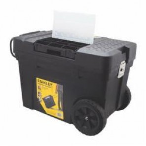 Stanley® 033026R Mobile Contractor Chest With Removable Organizer, 19.3 in H x 29.64 in W x 37.05 in D