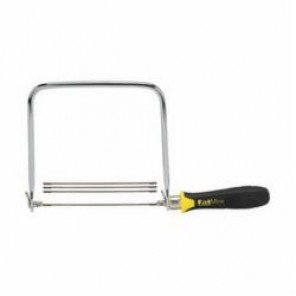 Stanley® FatMax® 15-106A Coping Saw, 6-3/8 in L, 15, Steel Blade