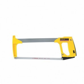 Stanley® 15-113 High Tension Hacksaw, 12 in L x 1/2 in W x 0.025 in T, 24, Carbon Steel Blade