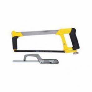Stanley® 20-036M High Tension Hacksaw With Mini Hack Saw, 12 in L, 24, Metal Blade