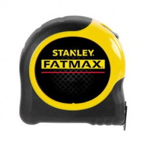 Stanley® FatMax® 33-716 Tape Rule, 1-1/4 in W x 16 ft L Blade, Mylar® Polyester Film Coated, Imperial, 1/16ths