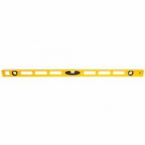 Stanley® 42-470 Non-Magnetic I-Beam™ Level, 48 in L x 1 in W x 2.3 in H, 3 Vials, (1) Level, (2) Plumb Vial Positions
