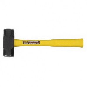 Stanley® 56-204 Jacketed Engineer Hammer, 13-5/8 in OAL, 1-15/16 in, 4 lb Head Weight, Alloy Steel Head