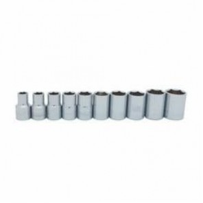 Stanley® 95-444 SAE Standard Socket Set, 10 Pieces, 1/2 in Drive, 6 Point, Full Polished