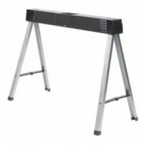 Stanley® STST11151 Single Fold Up Sawhorse, 5 in H x 4 in W, 800 lb/Pair Load, Metal/Polypropylene