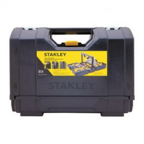 Stanley® STST17700 3-In-1 Hand Carry Tool Organizer, 12 in H x 16-13/16 in W x 9-1/8 in D, Plastic