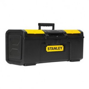 Stanley® STST24410 Basic Portable Tool Box With Removable Tray, 10-3/20 in H x 11 in W x 23-1/3 in D