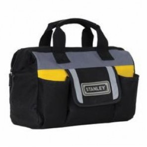 Stanley® FatMax® STST70574 Technician Tool Bag, 11.9 in L x 5.1 in W x 9.9 in H, Polyester/Polypropylene