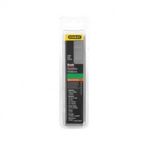 Stanley® SWKBN1187 Brad Nail, 1-3/16 in L, 18 ga, Chisel Point, Steel, Natural, Galvanized