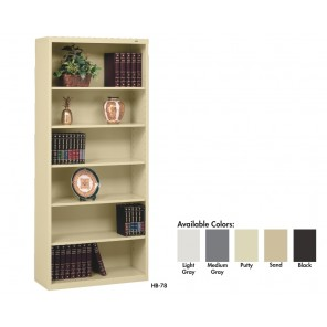 "BOOKCASES, 13-1/2"" Deep Stationary"