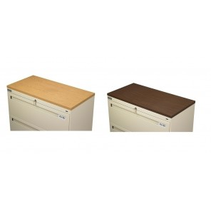 "LATERAL FILE CABINETS - ACCESSORIES, Oak Laminate Top for 42""W File"